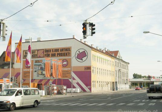Werbefläche Stadlauer Str 39A