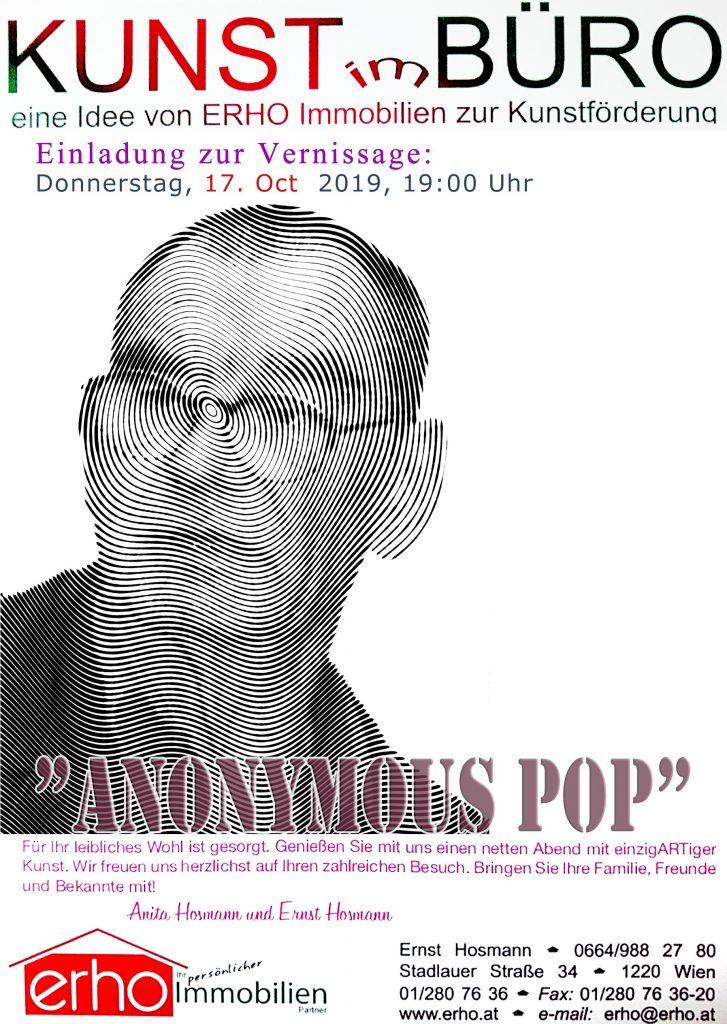 Einladung zur Vernissage am 04. April 2019 um 19:00 Uhr in Stadlauer Strasse 34 im 22. Bezirk