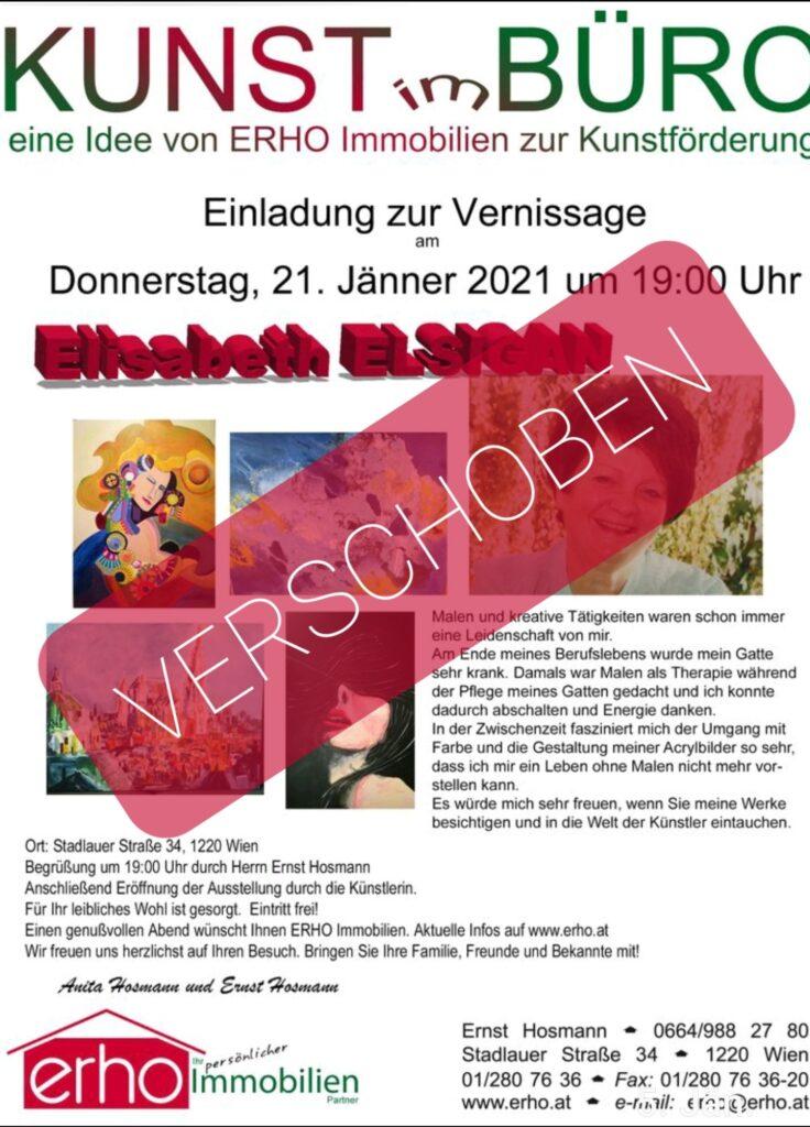 Einladung zur Vernissage am 20.02.2020 um 19:00 Uhr in Stadlauer Strasse 34 im 22. Bezirk